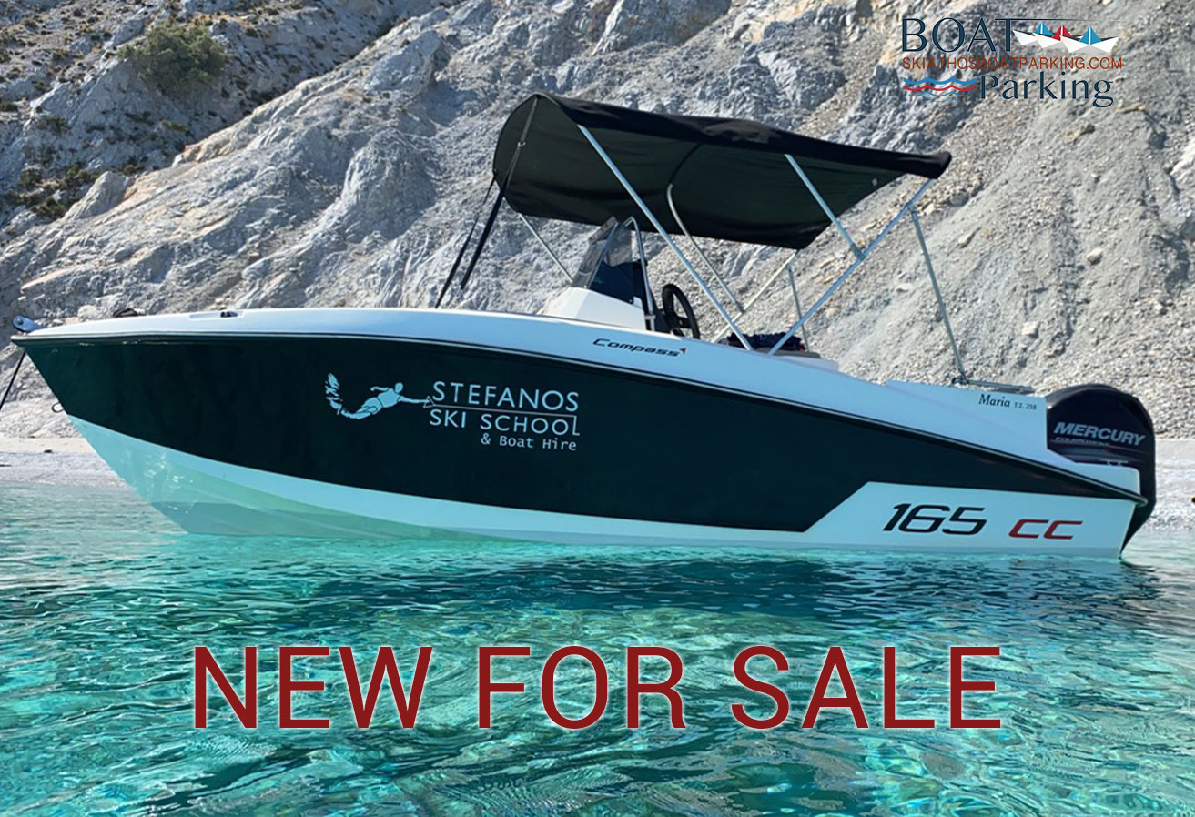 New Compass 165 cc for sale in Skiathos Boat Parking