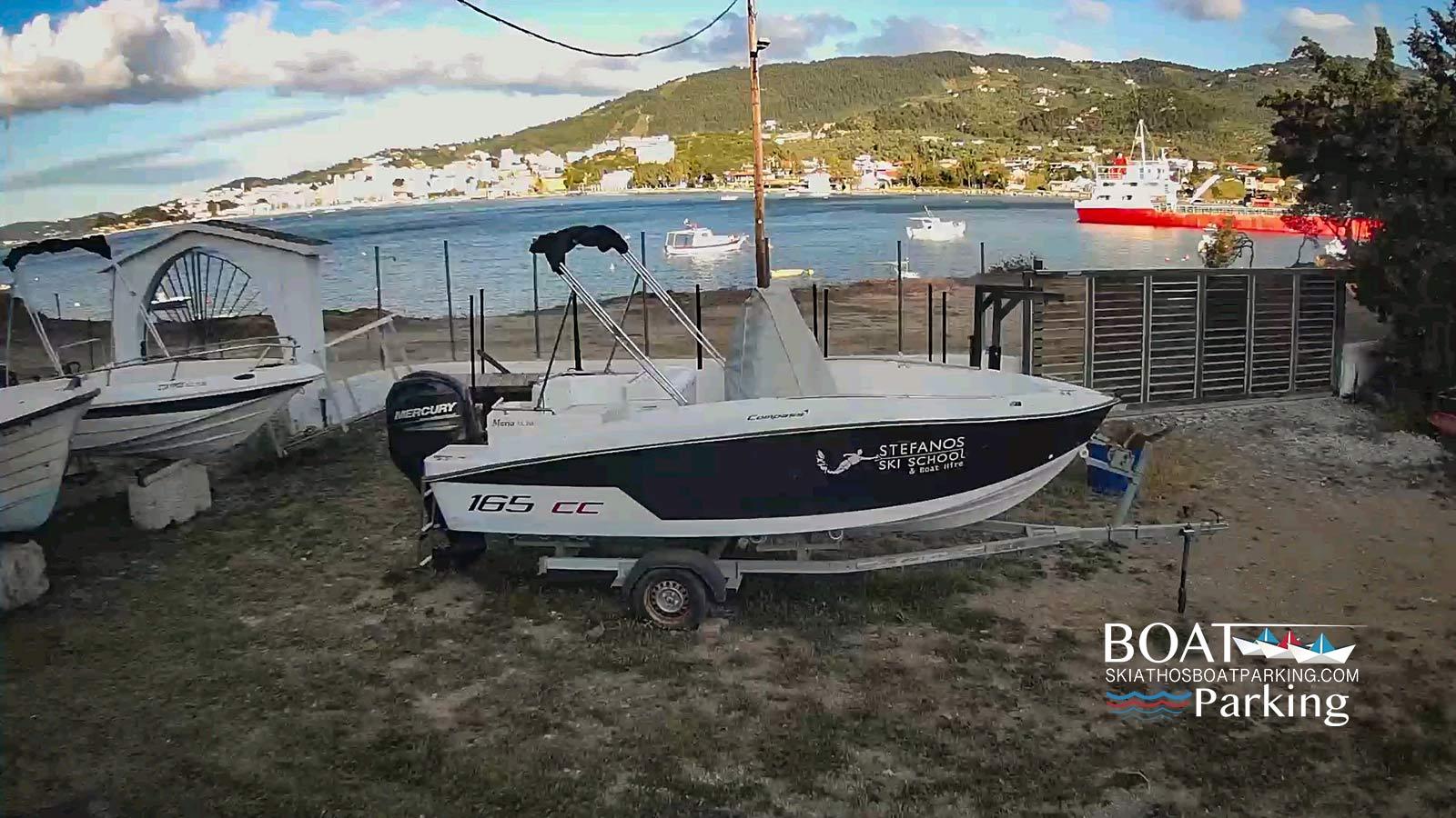 Skiathos Boat Parking & Rental Services